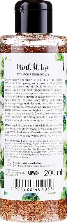 Szampon peelingujący Mint It Up - Anwen — фото N2