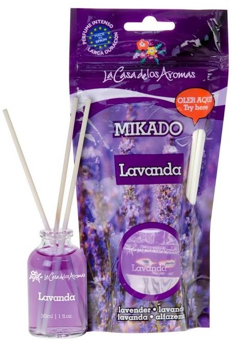Dyfuzor zapachowy Lawenda - La Casa de Los Aromas Mikado Reed Diffuser