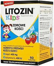 Kup Suplement diety dla dzieci na zdrowe kości - Orkla Litozin Kids