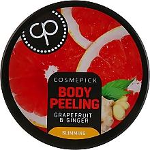 Kup Cukrowy peeling do ciała Grejpfrut i imbir - Cosmepick Body Peeling Grapefruit & Ginger