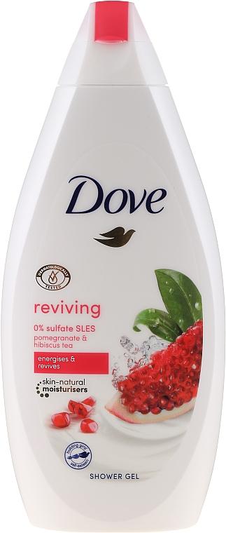 Żel pod prysznic Granat i hibiskus - Dove Go Fresh Reviving Shower Gel