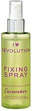 Kup Spray utrwalający makijaż - I Heart Revolution Fixing Spray Cucumber