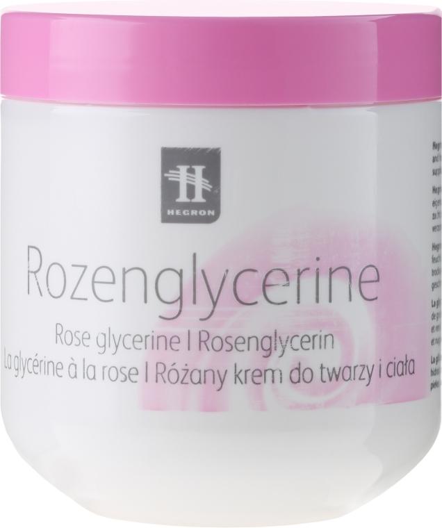 Różany krem glicerynowy do ciała - Hegron Rozenglycerine