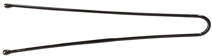 Wsuwki do włosów, proste, czarne - Lussoni Hair Pins 4.5 cm  — фото N1