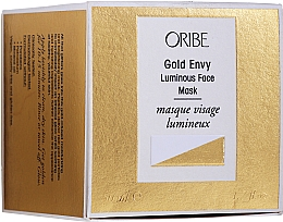 Kup Rozświetlająca złota maska do twarzy - Oribe Gold Envy Luminous Face Mask