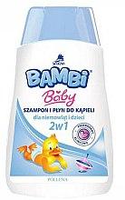 Kup Szampon i płyn do kąpieli 2 w 1 dla niemowląt i dzieci - Pollena Savona Bambi Baby
