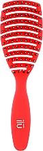 Szczotka do włosów, czerwona - Ilu Brush Easy Detangling Rose — фото N1