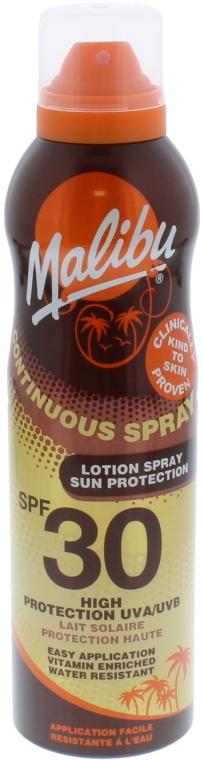 Przeciwsłoneczne mleczko w sprayu do ciała SPF 30 - Malibu Continuous Lotion Spray Sun Protection — фото N1