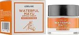 Kup Krem do twarzy z olejem końskim - Lebelage Waterful Mayu Ampule Cream
