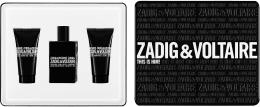 Kup Zadig & Voltaire This is Him - Zestaw (edt/50ml + sh/g/50ml + sh/g/50ml)