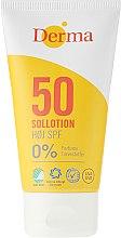 Kup Przeciwsłoneczny balsam do opalania ciała i twarzy SPF 50 - Derma Sun Lotion