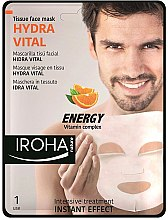 Kup Maska do twarzy - Iroha Nature Hydra Vital Energy Vitamin Complex Tissue Face Mask