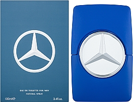 Mercedes-Benz Mercedes Benz Man Blue - Woda toaletowa — фото N2