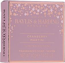 Zestaw - Baylis & Harding Cranberry Martini Collection Lip Set Pink (soap/40g + lip/gloss/12ml + sh/cr/30ml) — фото N3
