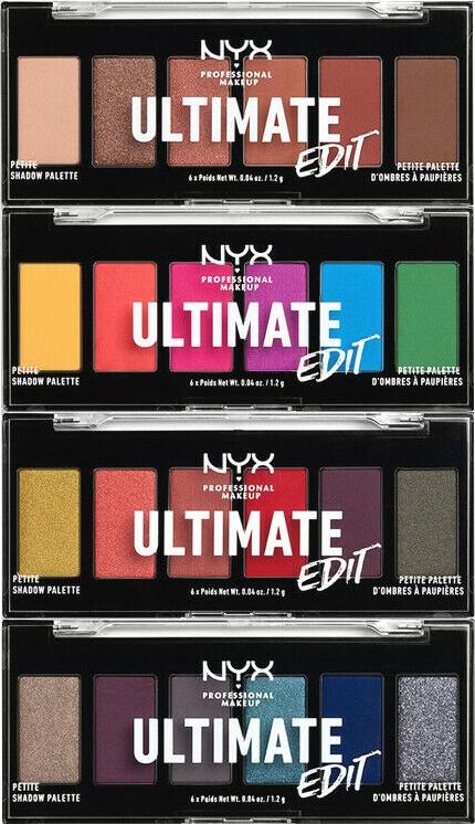 Paletka cieni do powiek - NYX Professional Makeup Ultimate Edit Petite Shadow Palette — фото N1