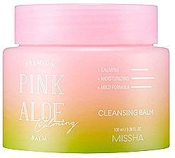Oczyszczający balsam do twarzy - Missha Premium Pink Aloe Cleansing Balm — фото N1