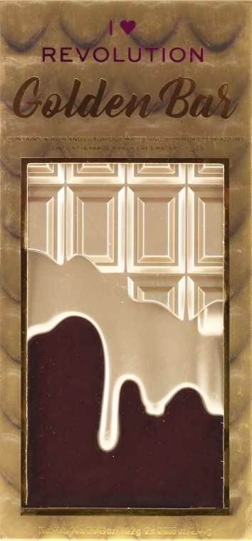 Paleta cieni do powiek - I Heart Revolution I Heart Chocolate Eyeshadow Palette