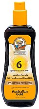Kup Olejek w sprayu do opalania SPF 6 - Australian Gold Tea Tree&Carrot Oils Spray SPF6