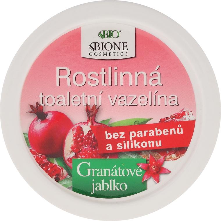 Wazelina kosmetyczna z granatem i antyoksydantami - Bione Cosmetics Pomegranate Plant Vaseline With Antioxidants — фото N1