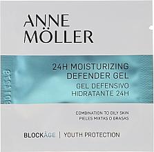 Kup Nawilżający żel ochronny do twarzy - Anne Moller Blockage 24h Moisturizing Defender Gel (tester)