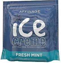 Kup Rozjaśniający puder do włosów - Affinage Salon Professional Ice Creme Fresh Mint Bleach