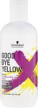 Kup Szampon neutralizujący żółty kolor włosów bez SLS i SLES - Schwarzkopf Professional Goodbye Yellow Neutralizing Shampoo
