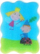 Kup Gąbka kąpielowa dla dzieci, Małe królestwo Bena i Holly, błękitna - Suavipiel Ben & Holly