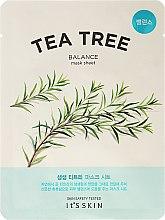 Kup Balansująca maska na tkaninie z drzewem herbacianym do twarzy - It's Skin The Fresh Mask Sheet Tea Tree