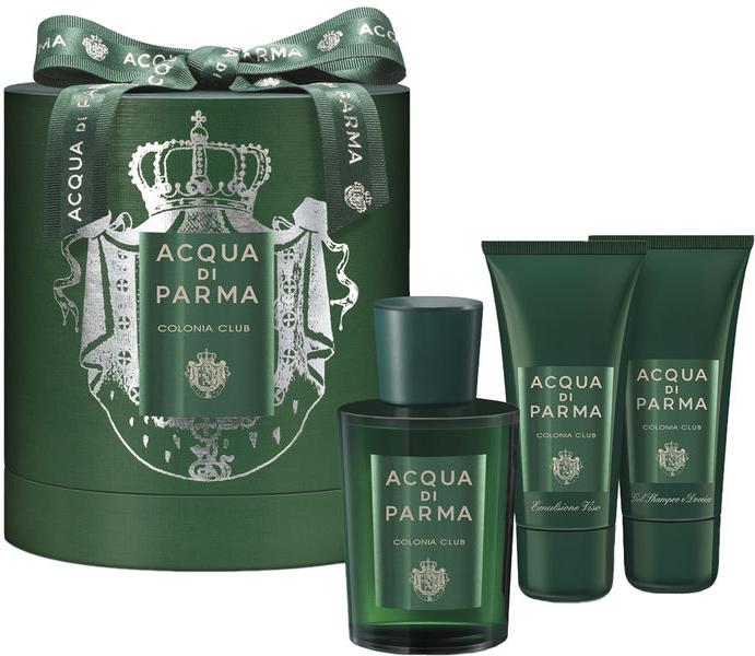 Acqua di Parma Colonia Club - Zestaw (edc 100 ml + f/emulsion 50 ml + sh/gel 50 ml) — фото N1