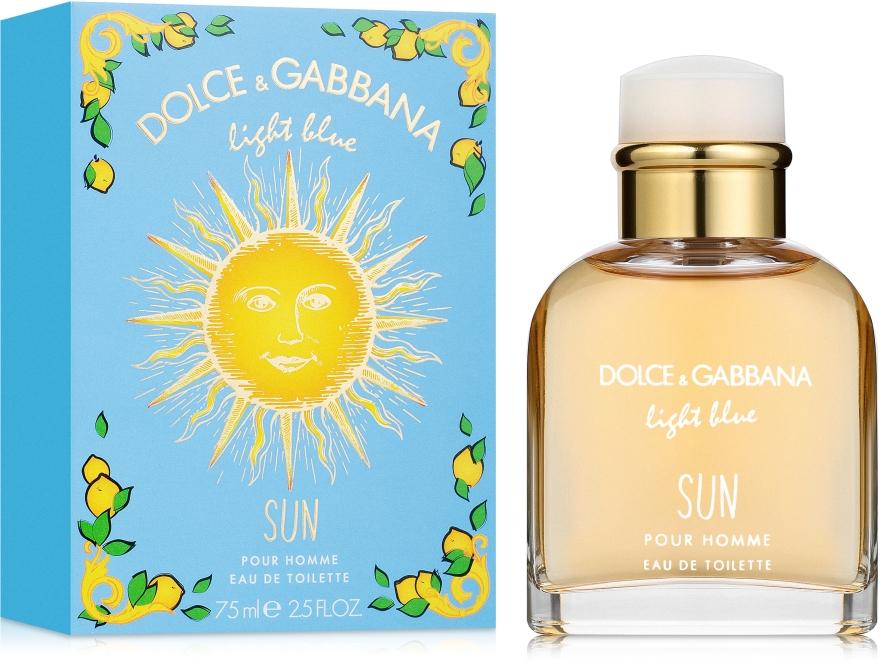 Dolce & Gabbana Light Blue Sun Pour Homme - Woda toaletowa