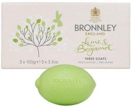Kup Zestaw mydeł - Bronnley Lime & Bergamot Soap