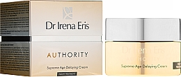 Kup Przeciwstarzeniowy kem do twarzy na noc Supreme Age Delaying - Dr Irena Eris Authority