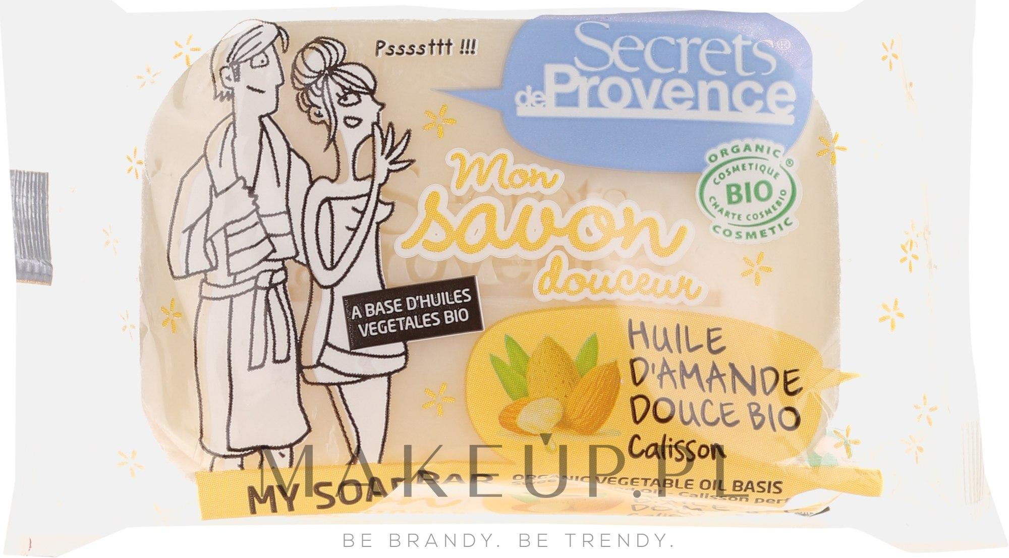 Mydło - Secrets De Provence My Soap Bar Organic Argan Oil — фото 100 g