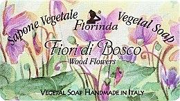 Kup Naturalne mydło w kostce Leśne kwiaty - Florinda Sapone Vegetale Wood Flowers Vegetal Soap Handmade