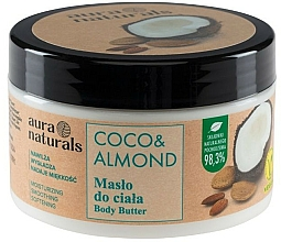 Kup Masło do ciała Kokos i migdał - Aura Naturals Coco & Almond Body Butter