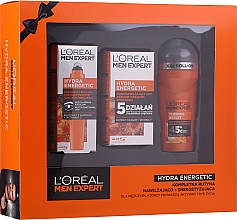 Kup Zestaw - L'Oreal Paris Men Expert (deo 50 ml + cr 50 ml + eye/roller 10 ml)