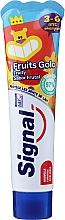 Kup Pasta do zębów o smaku owocowym dla dzieci 3-6 lat - Signal Kids Fruit Flavor Toothpaste