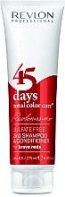 Kup Szampon z odżywką do włosów 2 w 1 Intensywna odbudowa Mocna czerwień - Revlon Professional Revlonissimo 45 Days Brave Reds 2in1