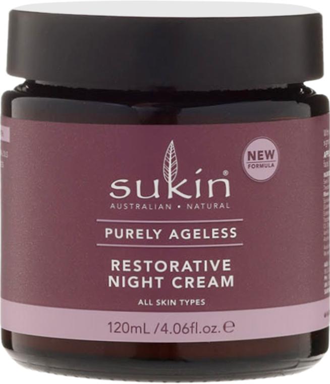 Regenerujący krem przeciwstarzeniowy do twarzy na noc - Sukin Purely Ageless Restorative Night Cream — фото N2