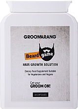 Kup Suplement diety na porost włosów - Groomarang Beard Growth Natural Accelerator Tablet