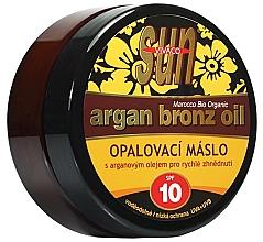 Kup Olejek do opalania SPF 10 - Vivaco Sun Argan Bronz Oil SPF 10