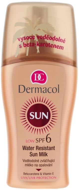 Wodoodporne mleczko do opalania - Dermacol Water Resistant Sun Milk SPF 6 — фото N1
