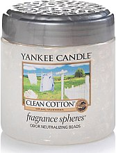 Kup Perełki zapachowe - Yankee Candle Clean Cotton Fragrance Spheres