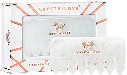 Kup Grzebień z różowego kwarcu - Crystallove Clear Quartz Comb