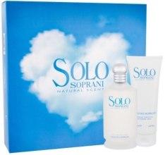 Kup Luciano Soprani Solo Soprani - Zestaw (edt/100ml + sh/gel/100ml)