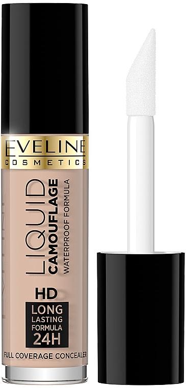 Korektor kamuflaż do twarzy - Eveline Cosmetics Liquid Camouflage