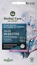 Kup Nawilżająca maseczka do twarzy Algi błękitne - Farmona Herbal Care