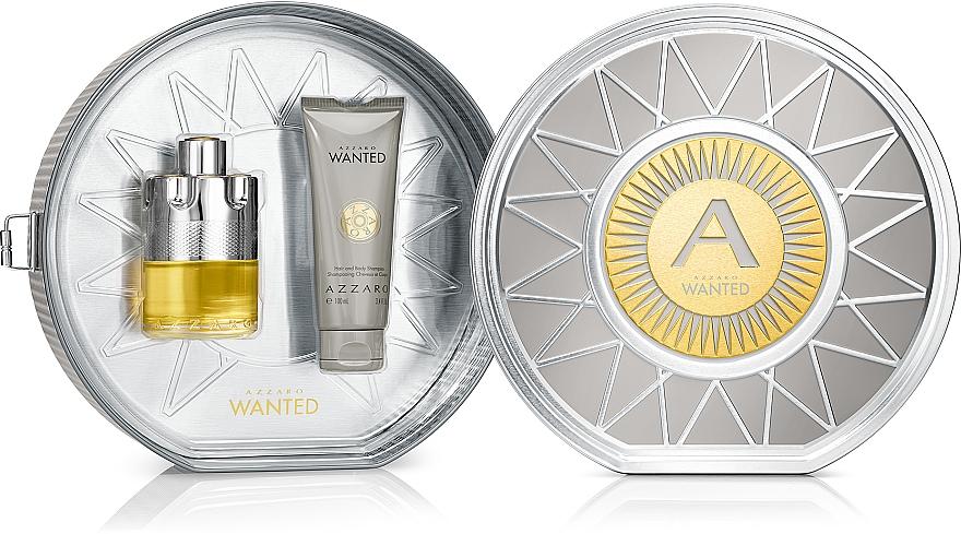 Azzaro Wanted - Zestaw dla mężczyzn (edt 100 ml + shamp 100 ml) — фото N1