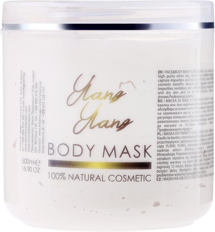 Maska do ciała Ylang-ylang - Sezmar Collection Professional Body Mask Ylang Ylang — фото N1