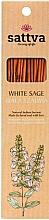 Kup Naturalne indyjskie kadzidła Biała szałwia - Sattva White Sage